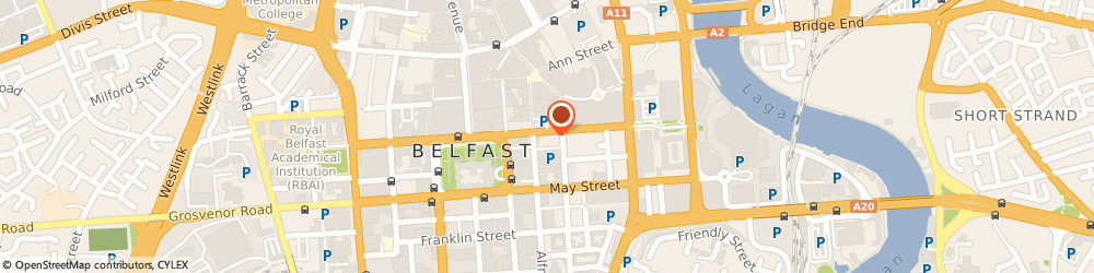 Route/map/directions to The Department Of Finance & Personnel, BT1 4JB Belfast, 21-27 CHICHESTER STREET, LONDONDERRY HOUSE