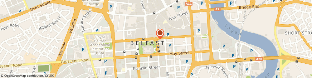 Route/map/directions to Belfast Tour NI, BT1 5BU Belfast, Donegall Square North