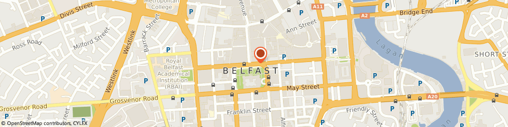 Route/map/directions to President Appeals Tribunals, BT1 5GA Belfast, 3 Donegall Square North