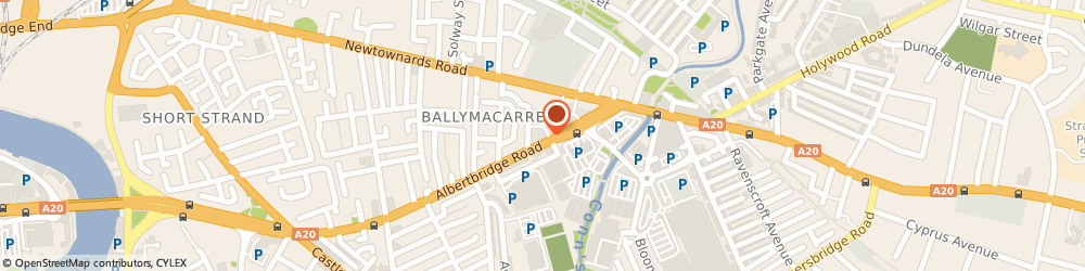 Route/map/directions to Alpha Fire Protection, BT5 4GX Belfast, 308 Albertbridge Rd