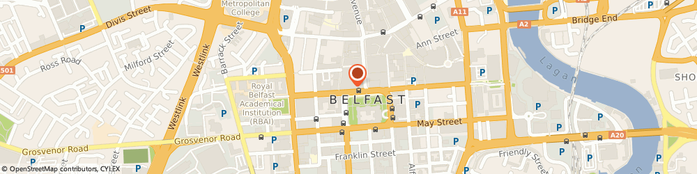 Route/map/directions to BANK OF SCOTLAND ATM - Belfast, BT1 5GB Belfast, 11-15 Donegall Square North