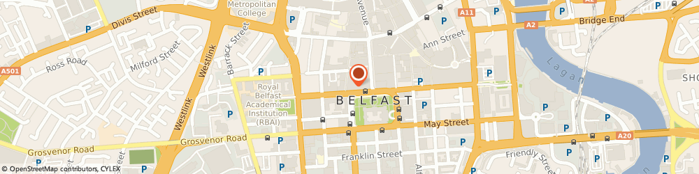 Route/map/directions to Molton Brown Belfast City, BT1 5GB Belfast, 16 Donegall Square North