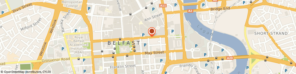 Route/map/directions to The Garrick Bar, BT1 4JB Belfast, 29 Chichester St