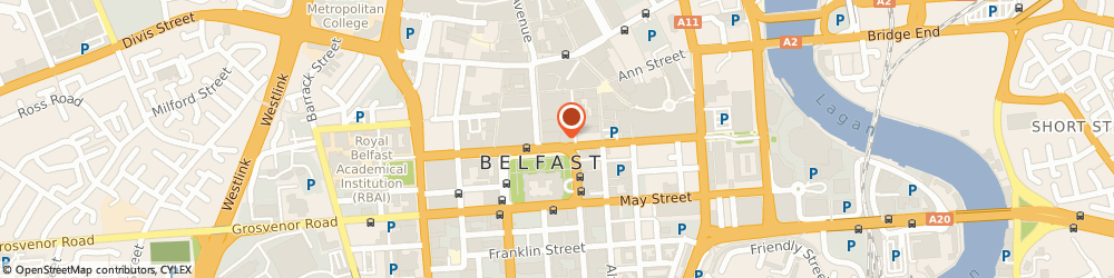 Route/map/directions to Independent Tribunal Service, BT1 5DP Belfast, 6TH FLOOR CLEAVER HO, DONEGALL SQUARE NORTH