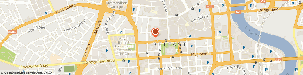 Route/map/directions to SOLO KITCHEN + BAR LIMITED, BT1 6GE Belfast, 11 Wellington Place