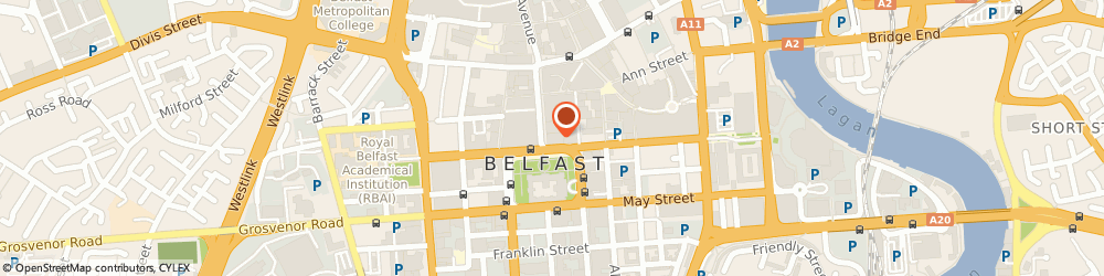 Route/map/directions to AECOM, Belfast, BT1 5YE Belfast, 1-3 Donegall Square North