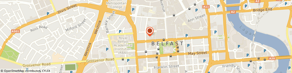 Route/map/directions to Euroclean, BT1 6EB Belfast, 40, QUEEN STREET