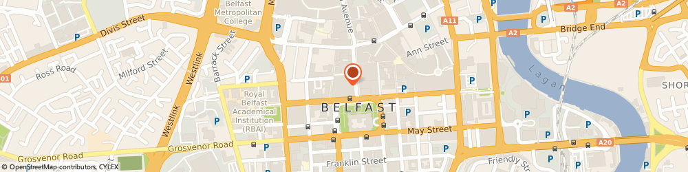 Route/map/directions to A&l Goodbody, BT1 5EB Belfast, 42-46 Fountain St