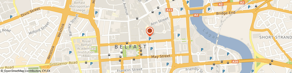 Route/map/directions to TÜV SÜD, BT1 4GB Belfast, 41 Arthur Street