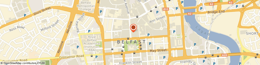 Route/map/directions to Right Coutts Consultants, BT1 3BH Belfast, WATERS EDGE, CLARENDON DOCK