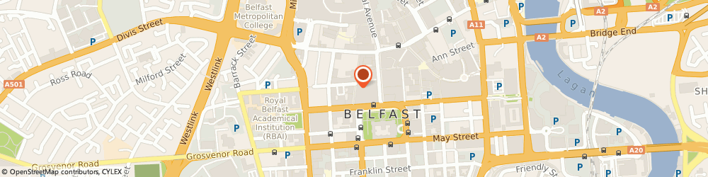 Route/map/directions to Early Years Project Belfast, BT1 5EE Belfast, 42 FOUNTAIN STREET