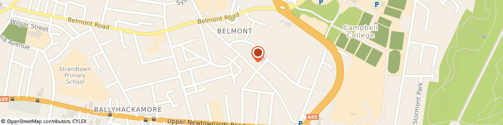 Route/map/directions to A 1 Computer Software, BT4 3LT Belfast, 34 WANDSWORTH ROAD