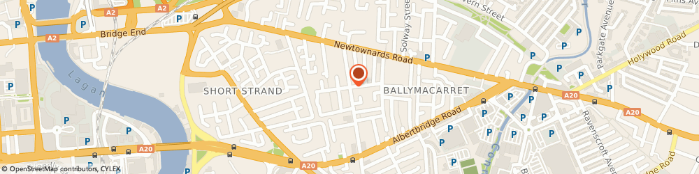 Route/map/directions to Engage With Age, BT5 4FP Belfast, 55 Templemore Ave