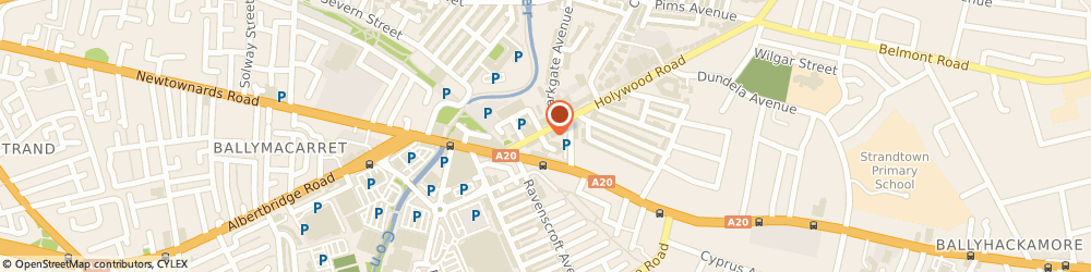 Route/map/directions to The Coffee Shop, BT4 3BA Belfast, 13 Holywood Road