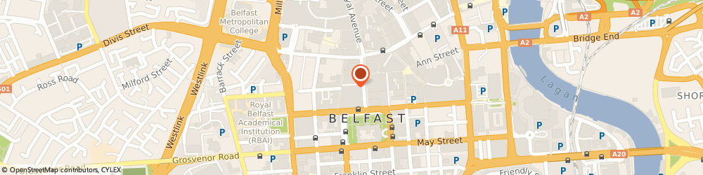 Route/map/directions to Boots Hearingcare, BT1 5AW Belfast, 35-47  Donegal Place