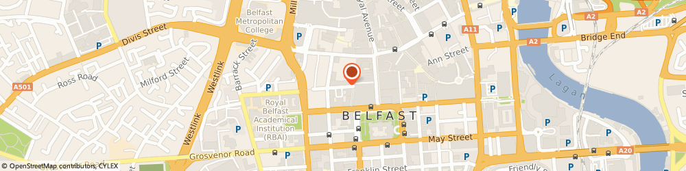 Route/map/directions to Vision Hair, BT1 6ET Belfast, 1st floor