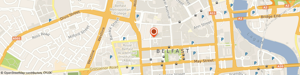 Route/map/directions to Adecco Alfred Marks, BT1 6EF Belfast, 38 Queen St