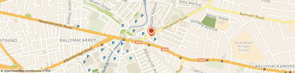 Route/map/directions to A.F.M Associates, BT4 1NT Belfast, 42 HOLYWOOD RD