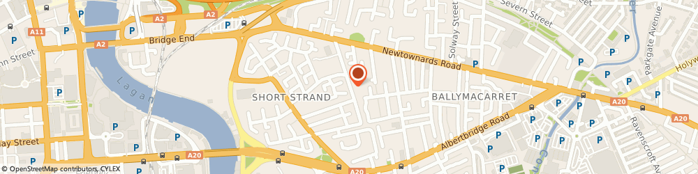 Route/map/directions to Abba Tectonics, BT5 4ES Belfast, 1A BRYSON STREET