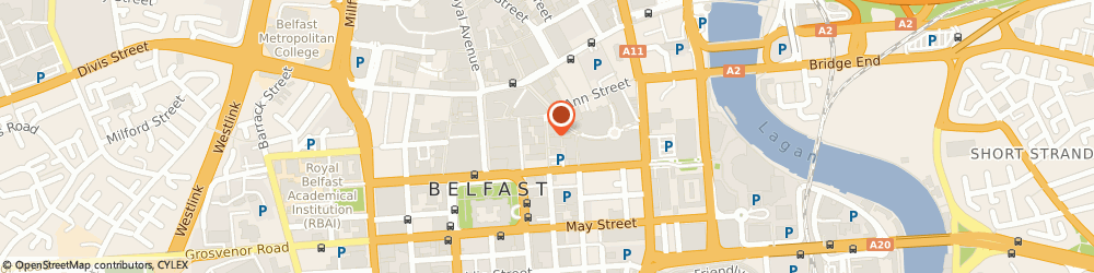 Route/map/directions to Forbes Margaret Jewellery, BT1 4GD Belfast, 8 Arthur Street