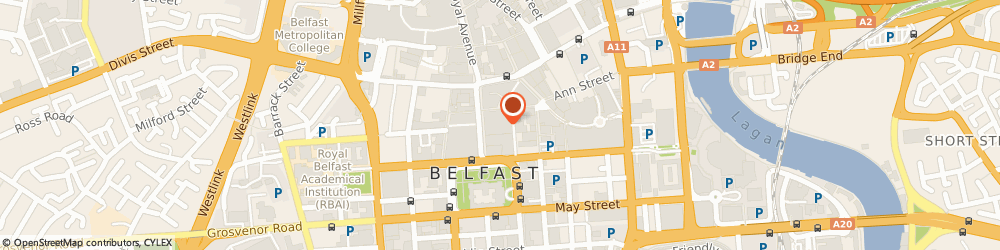 Route/map/directions to Next, BT1 5BB Belfast, 40-46 Donegall Place