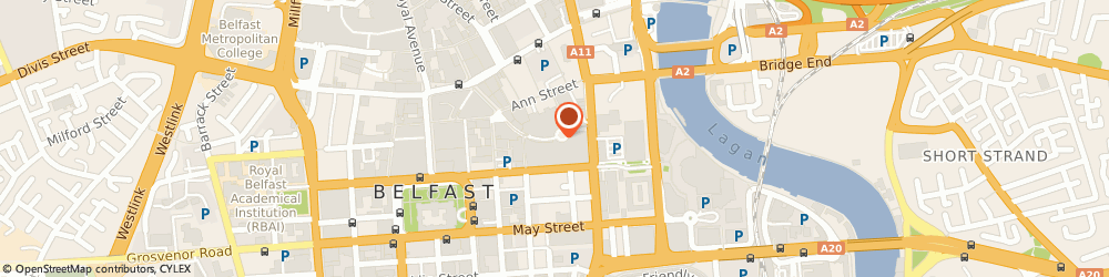 Route/map/directions to Department For Culture Arts & Leisure The, BT1 4BA Belfast, 20-24 Victoria Sq