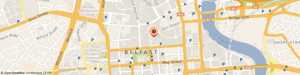 Route/map/directions to Larne Care Centre Limited, BT1 5BN Belfast, C/O LINDSAY HOUSE, 10 CALLENDER STREET