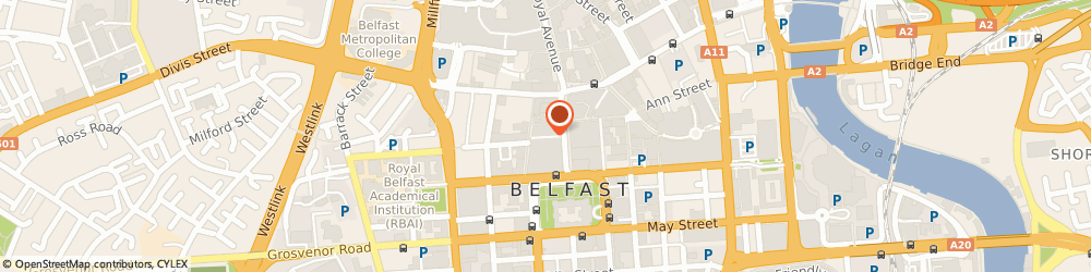 Route/map/directions to Carphone Warehouse, BT1 5EA Belfast, 29 Donegal Place