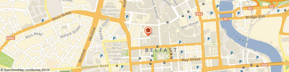 Route/map/directions to Age NI Enterprises, BT1 6BT Belfast, 10 College Street