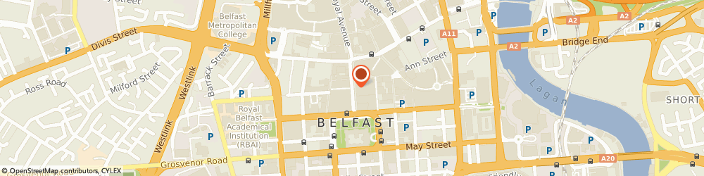Route/map/directions to Therapie Clinic Belfast, BT1 4EG Belfast, 58 Donegall Place