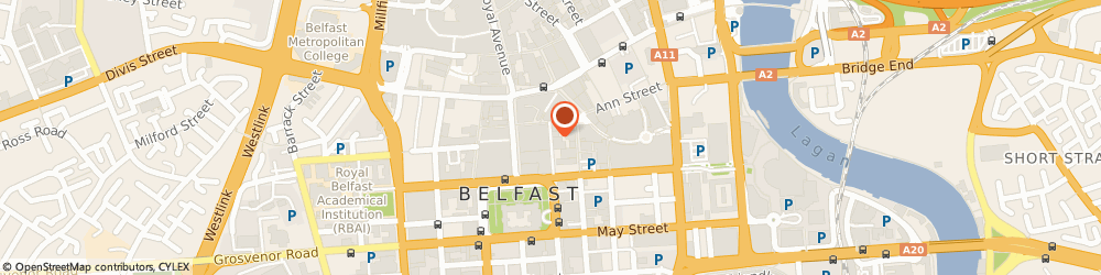 Route/map/directions to Elite Training and Consultancy Services Ltd, BT2 8FE Belfast, 5th Floor, Enterprise House, 55-59 Adelaide Street