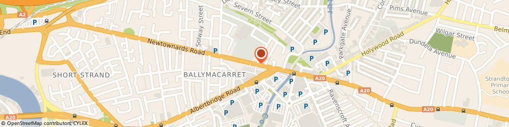 Route/map/directions to The Coffee Pot, BT4 1HE Belfast, 340 Newtownards Road