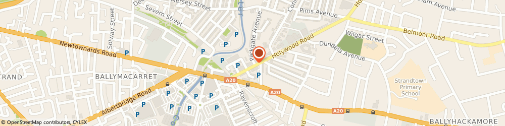 Route/map/directions to Holywood Road Surgery, BT4 1NT Belfast, 54 Holywood Road