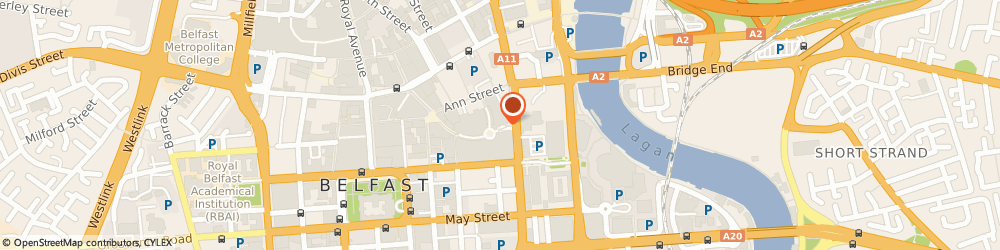 Route/map/directions to Kookai, BT1 4QG Belfast, House Of Frayer, Unit 41, Victoria Square