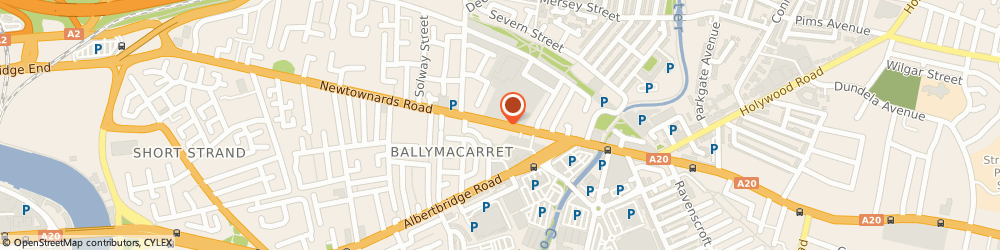 Route/map/directions to Mcdowells Pharmacy, BT4 1AD Belfast, 201, NEWTOWNARDS ROAD