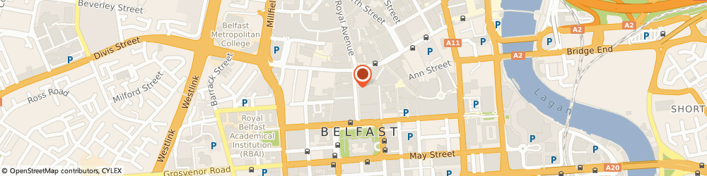 Route/map/directions to Ernest Jones Jewellery Belfast, BT1 5AB Belfast, 33 Donegal Place