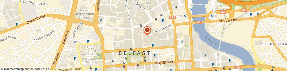 Route/map/directions to Easibuild, BT1 5DA Belfast, 12-14 Castle Lane