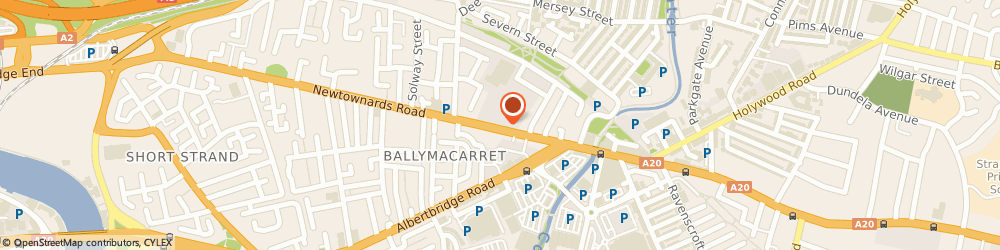 Route/map/directions to Rapport Architects Limited, BT4 1HE Belfast, 310 Newtownards Rd