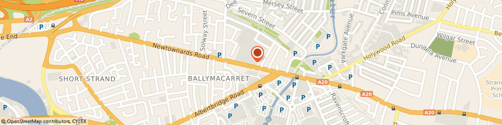 Route/map/directions to DEPOT HQ LTD, BT4 1HE Belfast, B1.10 PORTVIEW TRADE CENTRE, 310 NEWTOWNARDS ROAD