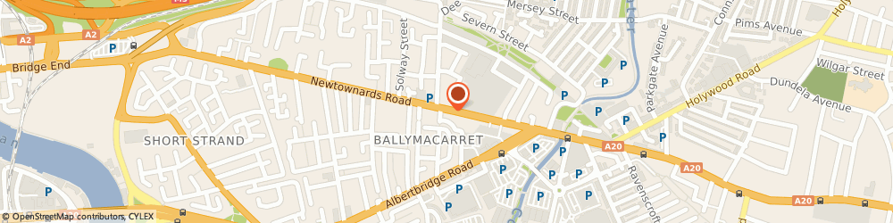 Route/map/directions to David Mcmullan Butchers Ltd, BT4 1AG Belfast, 281 Newtownards Rd
