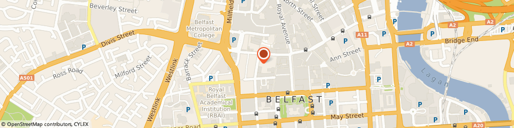 Route/map/directions to The 147 Club, BT1 6EA Belfast, 17 QUEEN ST, 1