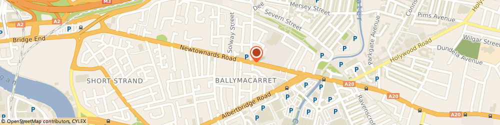 Route/map/directions to The Front Room Hair & Beauty, BT4 1AF Belfast, 271 Newtownards Rd