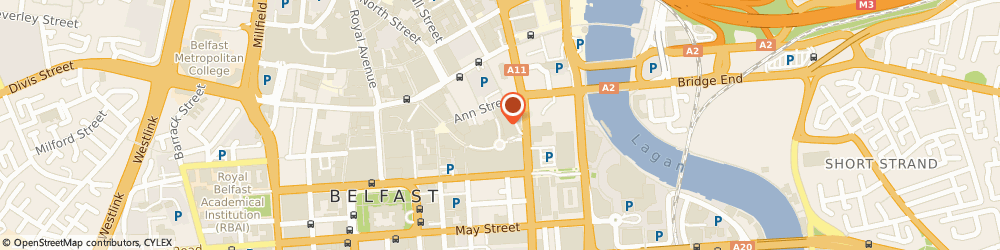 Route/map/directions to Specsavers Opticians and Audiologists - Belfast, BT1 4QG Belfast, 4b Victoria Square