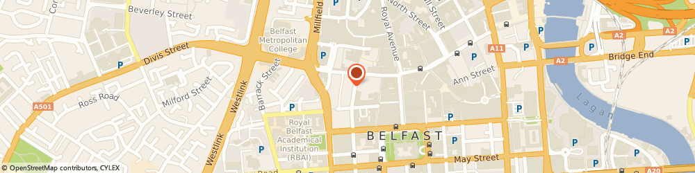 Route/map/directions to Harte Coyle Collins Solicitors, BT1 6EA Belfast, 9-15 Queen St