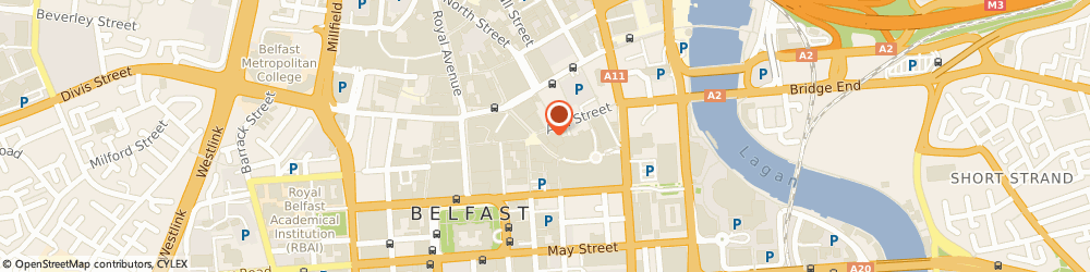Route/map/directions to Card Factory, BT1 4EA Belfast, 5 Ann St, Unit 1 17
