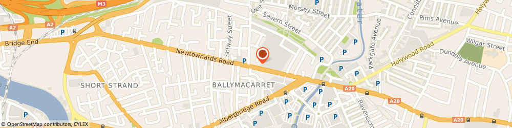 Route/map/directions to Avec Solutions Ltd, BT4 1HE Belfast, AVALON HOUSE, 278-280 NEWTOWNARDS ROAD