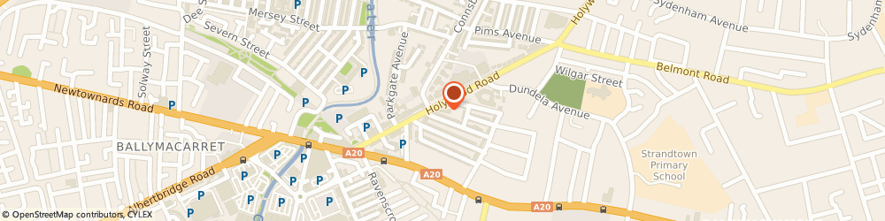 Route/map/directions to Nigel Morrow & Co, BT4 3BD Belfast, 89 Holywood Rd
