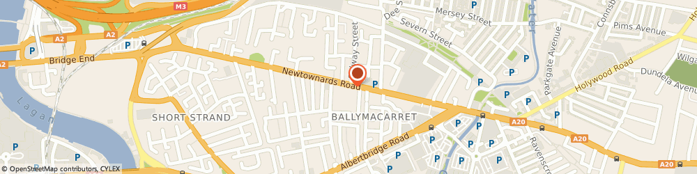 Route/map/directions to Department Of Employment and Learning, BT4 1HB Belfast, STEPPING STONES 240 NEWTOWNARDS ROAD