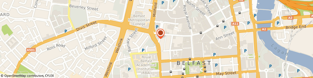 Route/map/directions to Sean P Graham, BT1 6AD Belfast, 54/56 King St