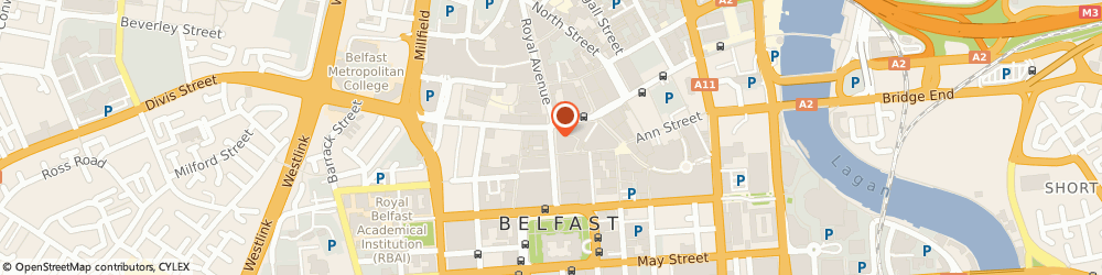 Route/map/directions to Zara, BT1 5AA Belfast, 3, Donegall Place